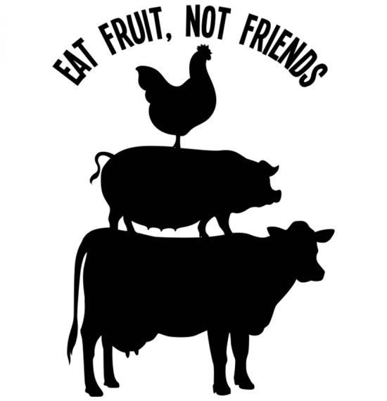 Eat Fruit, Not Friends - Various Merch Items