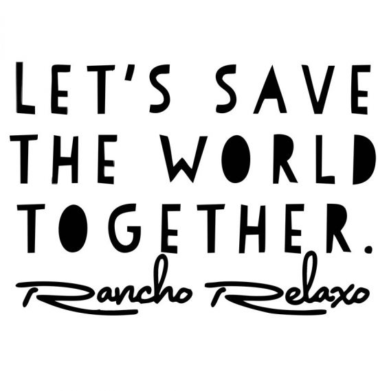 Let's Save the World Together - Various Merch Items