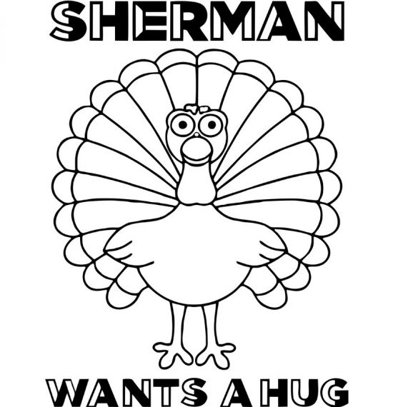 Sherman Wants a Hug - Various Merch Items